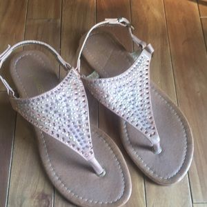 Shoes - Palms glimmer sling sandals